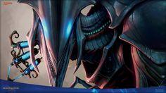 Serum Visions by Izzy Monster Characters, Fictional Characters, Mtg Art, Slash, Images Wallpaper, Magic The Gathering, Darth Vader, Serum, Dragons