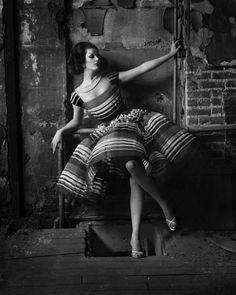 melvin sokolsky. full skirts. black & white. what's not to love?
