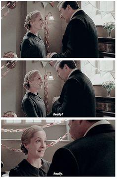 "Downton Abbey Season 6 ...""Really?' ...""Really."" .."