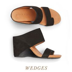 Wedges are a warm-weather must—plus they're excellent for adding height when your hemlines are long (think: maxi skirts & dresses).