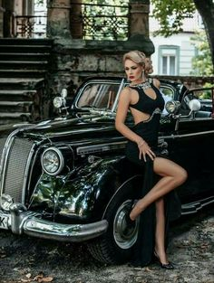 17 Trendy beautiful cars for women pin up Photo Glamour, Sexy Autos, Models Men, Up Auto, Belle Silhouette, N Girls, Auto Girls, Car Photography, Vintage Photography