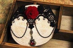 Joyas gótico al por mayor del collar y colgante de encaje de cuello collar de gargantilla de encaje accesorios de las mujeres collar colgante ( JL 139 ) en Gargantillas de Joyería en AliExpress.com | Alibaba Group
