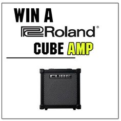 Who wants to #WIN a Roland Cube Amp.  Head over to our facebook page to find out how you can enter our #COMPETITION to win a new amp. Follow the link below...  https://www.facebook.com/guitarbitz/photos/a.10150361723123946.354731.110577068945/10152373076948946/?type=1&theater  GOOD LUCK!