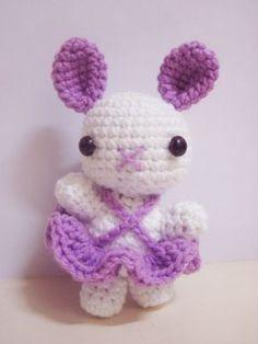 Petunia lapin(e) ballerine patron( pattern) gratuit(free) traduction français