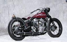 '53 panhead harley