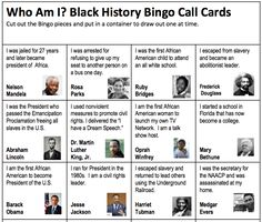 image about Free Printable Black History Trivia Questions and Answers titled 8 Least complicated Black Heritage Thirty day period pictures in just 2017 Black record