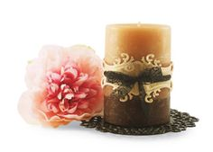 Fancy Tag #Candle Wrap #Spellbinders #MichaelsStores