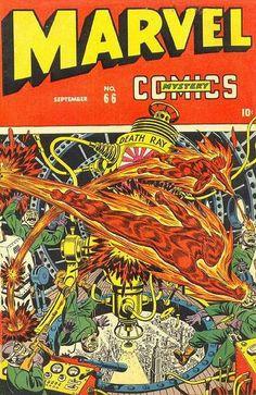 Vintage Marvel Mystery Comics #66 Cover-Art