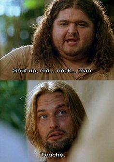 #6 and 7 Hurley and Sawyer from Lost