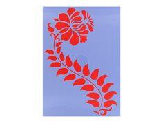 Flower Stencils   ... & Fabric Crafts   Stenciling   Home Decor Stencils   Flower Stencil
