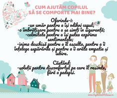 #Parenting #citate #educație #copii #blândețe Emotional Intelligence, Kids And Parenting, Motto, Personal Development, Montessori, Back To School, Activities For Kids, Learning, Children