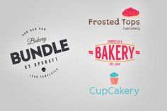 Bakery Bundle by UPDRAFT  on @creativemarket