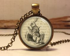 Alice in wonderland Jewelry. Alice Necklace by Hadaskolcollection, $12.95