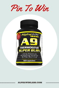 Pin To Win Celebrate the launch of Our New Product A9 Thermogenic Super Burn With Us! Win a free bottle of this new powerful weight loss support formula. Can't wait buy on Amazon