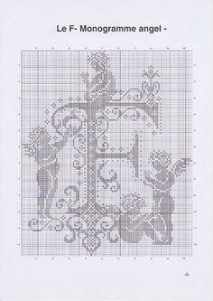 Cross-cusatura. MONOGRAMA cu Îngerii (9) (495x700, 205Kb)