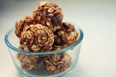 A no-bake nutty snack you can share with your best (furry) friend.