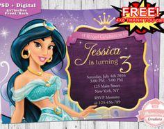 Printable Jasmine Birthday Invitations ~ Jasmine water labels jasmine printable by onlineinvitations