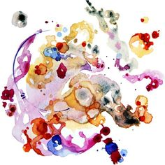 Watercolor Watercolor Painting Watercolor by ShellyPorterArtworks- pretty :)