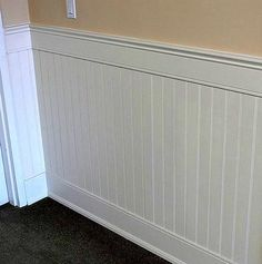 White Paneling | ...for the entry way