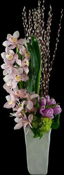 Pink Orchid arrangement