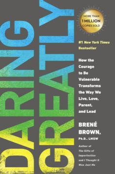 I believe anyone and everyone should read this book, whether a parent or not. Daring Greatly helps you to understand the power that lies within your own vulnerability, if only you can embrace it, and throw off the expectations of yourself, society, family etc. New York Times, Brene Brown Books, The Power Of Vulnerability, Good Books, Books To Read, The Gift Of Imperfection, Netflix, Best Self Help Books, Rising Strong