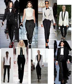 I want a women's tuxedo