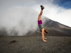 Handstand on Mt. Video Contest, Photo Contest, Free Photos, Cool Photos, Yoga Day, Handstand, Running, Photo And Video, Pageant Photography
