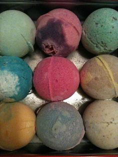 Lush bath bombs are the bomb. If you have love ones w/ sensitive skin you need to try LUSH!