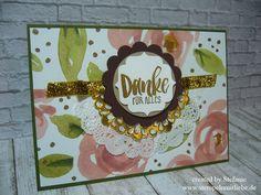 Stampin Up - Dankeskarte - Thank You Card - Grusskarte ♥ StempelnmitLiebe
