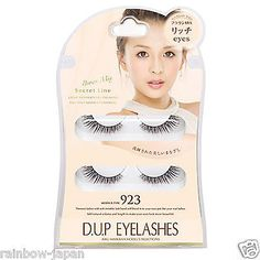 D.U.P EYELASHES Secret Line Brown Mix Eyelash NO.923 Rich Eyes False Eyelash