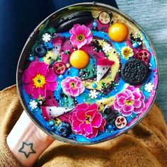 Smoothie Bowls Made Easy; a Simple Formula – The Smoothie Spot Good Smoothies, Fruit Smoothies, Smoothie Bowl, Smoothie Recipes, Delicious Fruit, Yummy Food, Exotic Food, Breakfast Bowls, Aesthetic Food