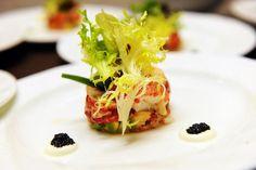 Le Cirque New York's chef Olivier Reginensi prepared the first course: Lobster Salad Le Cirque #pbfwf2012