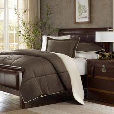 soo getting this!!!  Premier Comfort Down Alternative Comforter Set - Chocolate - Bed Bath & Beyond
