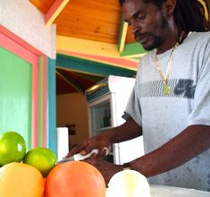 "On-Site Great Exuma: Rasta Steve's ""World's Best"" Conch Salad"