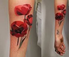 Image result for poppy tattoo lest we forget