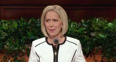 Sister Joy D. Jones delivered a powerful message in general conference on Saturday—sharing the infinite worth of the soul along with mention of Heavenly Mother—just one day after her son's funeral.
