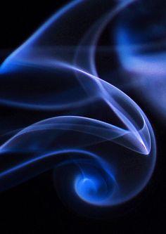"""Blowing Blue Smoke"" ~ Photography by brewj"