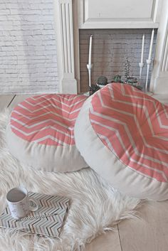 Light Pink Floor Pillows : Amazon.com - Girls floor pillow bed as reading nook cushion decorative and soft gifts to make ...