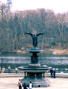 New York, Central Park, Bethesda Fountain, Lake, Water, Trees, Colour, Wall Art, Home Decor by PhotosbyAnnaMarie on Etsy https://www.etsy.com/listing/236954630/new-york-central-park-bethesda-fountain