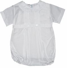 Boys Christening Outfit Baby Bubble Romper