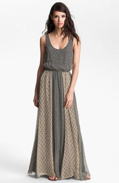 Ella Moss 'Sun Tile' Print Maxi Dress available at #Nordstrom