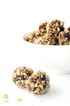 Nutella Hazelnut Chocolate Truffles Gluten Free