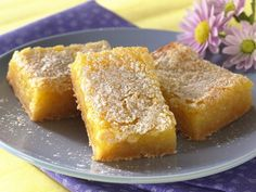 Sunny Lemon Bars ~ these bars have always been a hit at any event, party, reunion etc....made them lots of times.