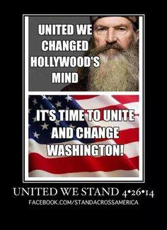 Unite to fix America