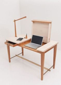 Adorable Plywood Desk Design Ideas For Home Office 07 Wooden Furniture, Office Furniture, Cool Furniture, Furniture Design, Bedroom Furniture, Lego Bedroom, Wooden Desk, Repurposed Furniture, Furniture Plans