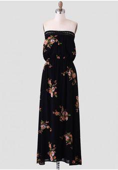Botanical Wonder Maxi Dress