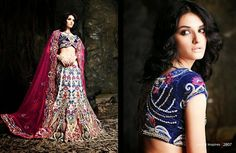 Beautiful collection of Netted Wedding Lehenga with heavy embroidery work en-crafted in Off-White and Blue color. Along with Contrast Matching Netted Duppatta and Velvet Blouse.