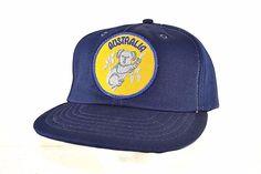 Australia Blue  Baseball Cap Snapback #Sunbuster #BaseballCap