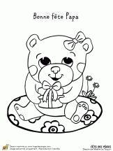 Fête des pères, la petite ourse