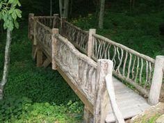 Bridge idea for our creek...